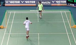 周天成VS田厚威 2015韩国公开赛 男单1/4决赛视频