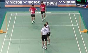 艾哈迈德/纳西尔VS爱德考克/加布里 2015韩国公开赛 混双半决赛视频
