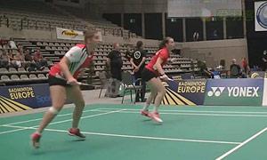 赫特里克/迈克斯VS塞尔宁/弗洛拉 2015比利时公开赛 女双1/8决赛视频