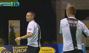 埃特里/雷迪VS克瓦林纳/瓦查 2015比利时公开赛 男双决赛视频