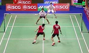 普拉塔玛/苏华迪VS苏帕克/纳达奈 2015泰国公开赛 男双1/16决赛视频
