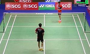 全奕陈VS西萨 2015泰国公开赛 男单1/16决赛视频