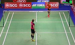 成池铉VS蒂娜 2015泰国公开赛 女单1/16决赛视频