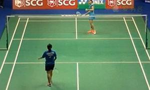 因达农VSChananchid 2015泰国公开赛 女单1/16决赛视频