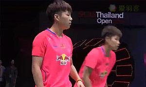 黄东萍/李茵晖VS张艺娜/李绍希 2015泰国公开赛 女双决赛视频