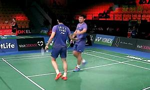 刘小龙/邱子瀚VS埃利斯/米尔斯 2015丹麦公开赛 男双1/16决赛视频