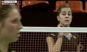 马琳VS波尔森 2015丹麦公开赛 女单1/8决赛视频
