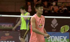 谌龙VS魏楠 2015丹麦公开赛 男单1/4决赛视频