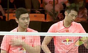 刘成/鲁恺VS伊万诺夫/索松诺夫 2015丹麦公开赛 男双1/4决赛视频