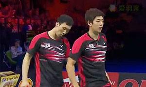李龙大/柳延星VS刘成/鲁恺 2015丹麦公开赛 男双决赛视频