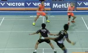 【先锋乒羽】2015年韩国羽毛球公开赛 十佳球