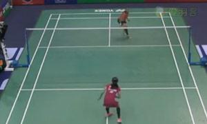 因达农VS许雅晴 2015法国公开赛 女单1/16决赛视频