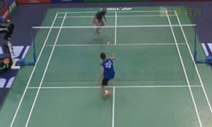 李宗伟VS利弗德斯 2015法国公开赛 男单1/16决赛视频