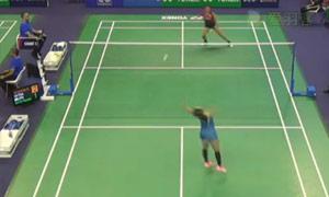 因达农VS佐藤冴香 2015法国公开赛 女单1/8决赛视频