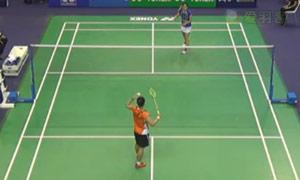 戴资颖VS妮昌·金达汶 2015法国公开赛 女单1/8决赛视频