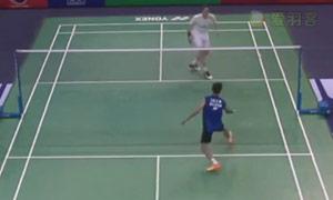 李宗伟VS阿萨尔森 2015法国公开赛 男单1/8决赛视频