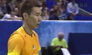 李宗伟VS佐佐木翔 2015法国公开赛 男单1/4决赛视频