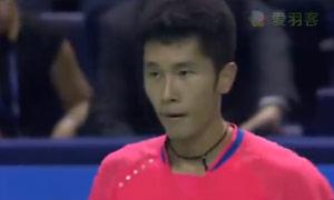 约根森VS田厚威 2015法国公开赛 男单1/4决赛视频