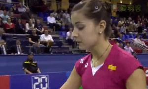 马琳VS戴资颖 2015法国公开赛 女单半决赛视频