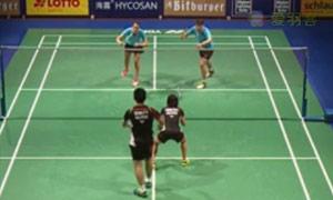 福克斯/迈克斯VS黄辉颖/邹美君 2015碧特博格公开赛 混双1/8决赛视频