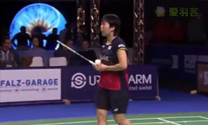 山口茜VS布桑兰 2015碧特博格公开赛 女单决赛视频