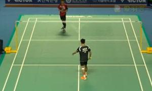 许侊熙VS毛拉那 2015韩国黄金赛 男团资格赛视频
