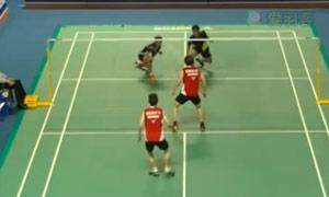 李哲辉/李洋VS费尔纳迪/苏卡穆约 2015韩国黄金赛 男双1/8决赛视频