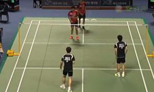 李俊慧/刘雨辰VS安格里亚万/萨普特拉 2015韩国黄金赛 男双1/8决赛视频