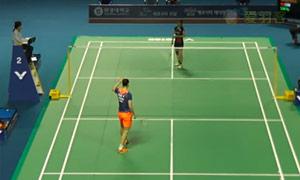 孙瑜VS今別府香里 2015韩国黄金赛 女单1/4决赛视频
