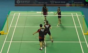高成炫/金荷娜VS古贺辉/米元小春 2015韩国黄金赛 混双1/4决赛视频