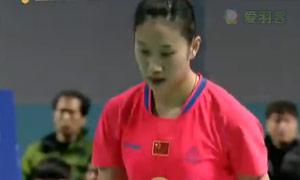 孙瑜VS裴延姝 2015韩国黄金赛 女单半决赛视频