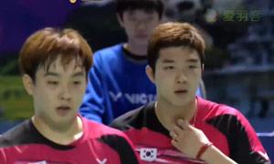 金基正/金沙朗VS高成炫/申白喆 2015韩国黄金赛 男双决赛明仕亚洲官网