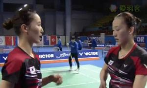 张艺娜/李绍希VS郑景银/申升瓒 2015韩国黄金赛 女双决赛视频