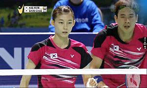 高成炫/金荷娜VS申白喆/蔡侑玎 2015韩国黄金赛 混双决赛视频
