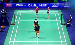 高成炫/金荷娜VS基多/皮婭 2015中國公開賽 混雙1/16決賽視頻