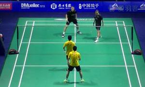 阿山/塞蒂亞萬VS彼德森/科丁 2015中國公開賽 男雙1/16決賽視頻