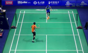 李宗偉VS伍家朗 2015中國公開賽 男單1/16決賽視頻