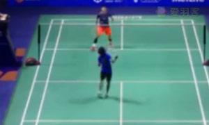 谌龙VS贾亚拉姆 2015中国公开赛 男单1/16决赛视频