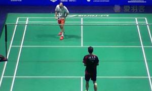 李东根VS埃文斯 2015中国公开赛 男单1/16决赛视频