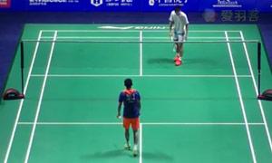 周天成VS薛松 2015中国公开赛 男单1/16决赛视频