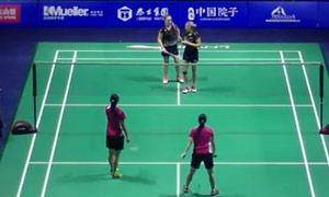 穆斯肯斯/皮克VS谢沛蓁/吴玓蓉 2015中国公开赛 女双1/16决赛视频