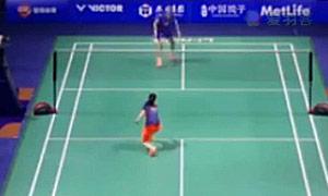 李雪芮VS张一曼 2015中国公开赛 女单1/16决赛视频