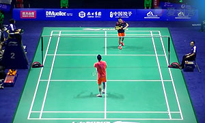 林丹VS乔斌 2015中国公开赛 男单1/16决赛视频
