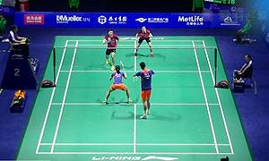 徐晨/马晋VS柳延星/张艺娜 2015中国公开赛 混双1/8决赛视频