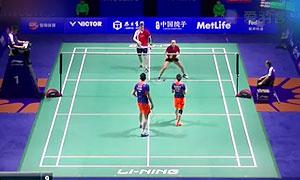 尼克拉斯/蒂格森VS鲁恺/黄雅琼 2015中国公开赛 混双1/8决赛视频