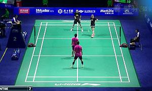 尼尔森/佩蒂森VS陈润龙/谢影雪 2015中国公开赛 混双1/8决赛视频
