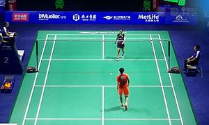 奥原希望VS陈晓欣 2015中国公开赛 女单1/8决赛视频