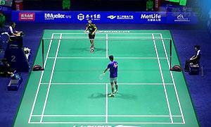 胡赟VS波萨那 2015中国公开赛 男单1/8决赛视频