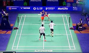 王懿律/张稳VS阿山/塞蒂亚万 2015中国公开赛 男双1/8决赛视频