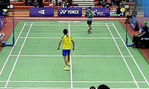 林贵埔VS渡边柯基 2015世界青年羽毛球锦标赛 男单半决赛视频
